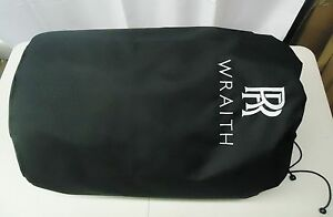ROLLS-ROYCE WRAITH AUTHENTIC BLACK INDOOR CAR COVER  OEM # 82-15-2-354-529