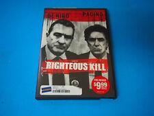 Righteous Kill (DVD, 2009) EX RENTAL