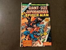 Giant-Size Super-Heroes #1 (1974) Spider-Man Early Morbius And Man-Wolf