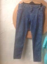 👖❤️❤️❤️New Look YES YES  UK16  Blue DENIM Slim Jeans👖 *VGC*
