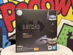 S.H.Figuarts Batman (1989) USA Bandai Tamashii Web NEW IN BOX