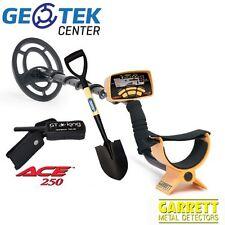 Metal Detector Garrett Ace 250 + Pala Draper + Pinpointer GT King