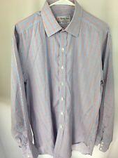 Turnbull & Asser Dress Shirt 16.5 Check Regular Cuff