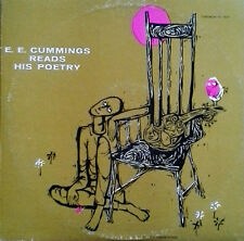 E.E. CUMMINGS - READS HIS POETRY - CAEDMON 1017 - MONO LP - RECORDED 1953