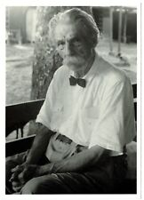 ALBERT SCHWEITZER in Gabon, 1964 - New Postcard - Out of Print