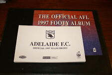 1997 Herald Sun AFL Official Team Photo Album and set of 16 cards