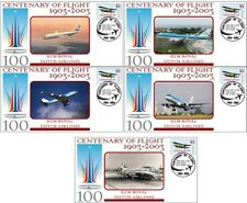 KLM AIRLINES CENTENARY OF FLIGHT SET OF 5 COVERS