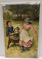 """Original Vintage Poster """"A Heavy Load"""" Supplement to the Boston Sunday Globe"""