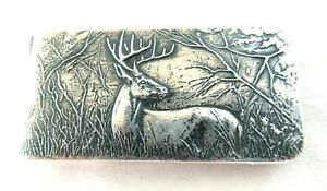 James Avery  STAG MONEY CLIP - Sterling Silver