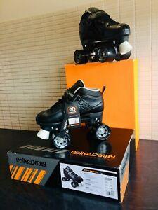roller skates- roller derby - str seven/black
