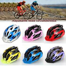 US Cycling Bicycle Adult Men Womens Bike Helmet With Visor Mountain Shockproof