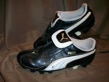*USED* *WORN* PUMA MENS SIZE 5.5 SHOES CLEATS (NO STRINGS)