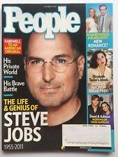 STEVE JOBS 1955-2011 HIS LIFE & GENIUS October 24, 2011 TIME Magazine