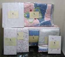 NEW Pottery Barn Kids SOPHIE BUTTERFLY Crib Quilt Set/7 ~INVENTORY LIQUIDATION
