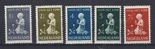 Niederlande 1940 mit Falz MiNr. 375-379  /(2)