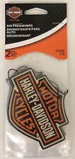 Harley-Davidson 2-pack Air Freshener Dark Ice Bar & Shield  Logo Car Truck NEW