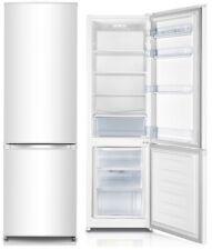 PKM Kühl- Gefrierkombination 277 Liter A+++ 55cm breit Kühlschrank weiß groß LED