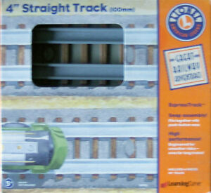 """Learning Curve 92701 - Lionel 4"""" Straight Track (100mm) (2)"""
