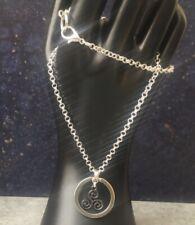 Halsreif Thabit collar Necklace SM anillo de la cadena o fetiche o-ring BDSM 70005