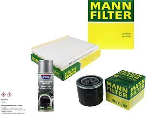 MANN-FILTER Package + Presto air cleaner for Hyundai Santa Fe II CM