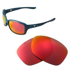 58541cd6a7e Walleva Polarized Fire Red Replacement Lenses For Oakley Urgency Sunglasses