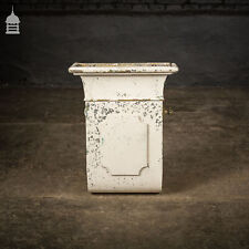 More details for 19th c reclaimed zinc air vent with brass fist handle