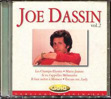 JOE DASSIN - GOLD VOL.2 - VERSIONS ORIGINALES - BEST OF CD ALBUM [1595]