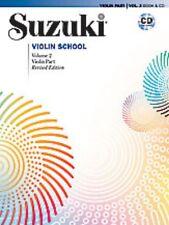 Suzuki Violin School, Volume 2: Violin Part (Book & CD) [Paperback] by Suzuki...