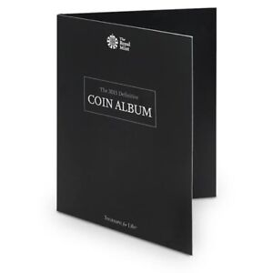 Royal Mint 2015 Definitive Shield Coin Set Album with Free 2015 Shield £1 Coin