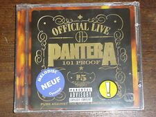 PANTERA Official live: 101 proof CD NEUF