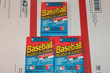 1989 Donruss Baseball Packs!! Vintage unopened Lot.