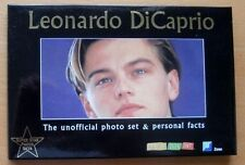 "LEONARDO DICAPRIO  UNOFFICIAL 18 PHOTO SET & PERSONAL FACTS - 6"" X 4"" PHOTOS"