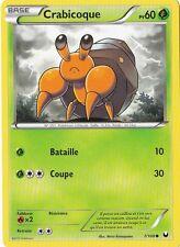Crabicoque -N&B:Explorateurs Obscurs-7/108-Carte Pokemon Neuve France
