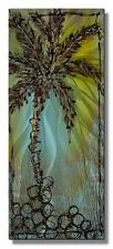 Metal Wall Art Sculpture Painting Palm Tree Wall Hanging 'California Palm'