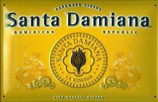 Santa Damiana Cigars Blechschild Schild 3D geprägt gewölbt Tin Sign 20 x 30 cm