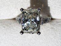 Ladies 4.76 Carat Scott Kay Platinum Engagement Ring