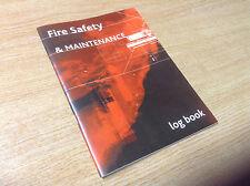 A5 Fire Safety & Maintenance Log Book