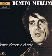 LP ITALIA BENITO MERLINO LETTERE D'AMORE E DI ODIO LE CHANT DU MONDE