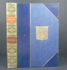 Charlotte Bronte~Shirley~London J M Dent & Sons Ltd~1922~Bayntun binding