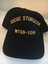 """Us Coast Guard Cap """" Uscgc Sturgeon"""" Wtgb-109"""