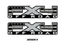 "Fx4 Off Road Truck Bed Decal Set For Ford F150 09-14 Vinyl Stickers 17""x4"" SUBD"