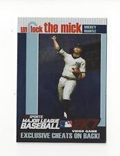 2007 Topps Unlock the Mick #2 Mickey Mantle Yankees