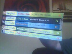 Famous Five Books 1-5-Enid Blyton Paperback English Hodder 2017
