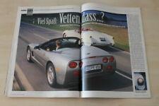 Auto Bild 23595) Chevrolet Corvette C5 Cabrio mit 344PS besser als...?