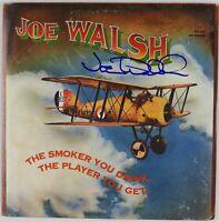 Joe Walsh JSA Signed Autograph Record Album Vinyl The Smoker You Drink