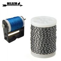 """Archery Bowstring Nylon Serving Thread 120m/Roll 0.02"""" Thickness String Protect"""