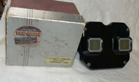 Vintage Sawyer's Black View-Master Viewer Stereoscope W Box!