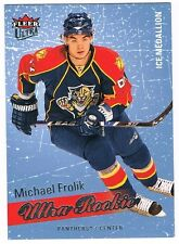 2008-09 FLEER ULTRA ROOKIE ICE MEDALLION PARALLEL#271 MICHAEL FROLIK 057/100