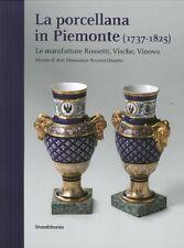 La porcellana in Piemonte (1737 - 1825). Le manifatture Rossetti, Vische, Vinovo