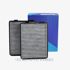 BMW A/C Cabin Air Filter Charcoal Carbon E39 525i 530i 540i M5 Premium 588 x2pcs